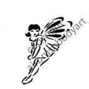 0272 fairy reusable stencil